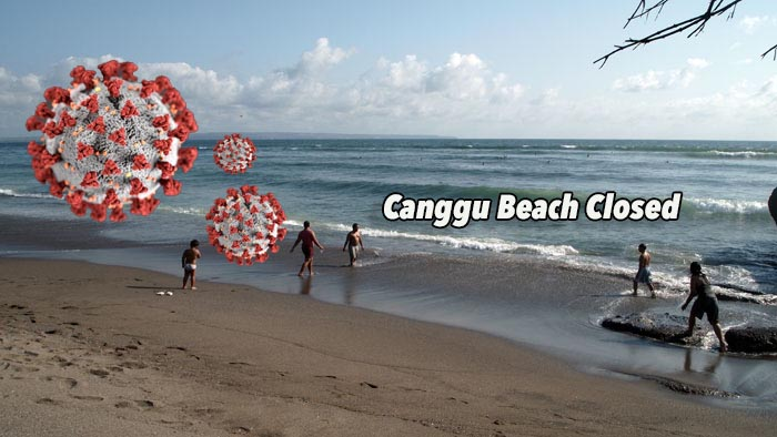 Obey Governor's Appeal, Canggu Beach Closed